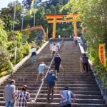 2度目の和歌山ソロキャンプ・サイクリング(1日目) 潮岬キャンプ場~熊野那智大社