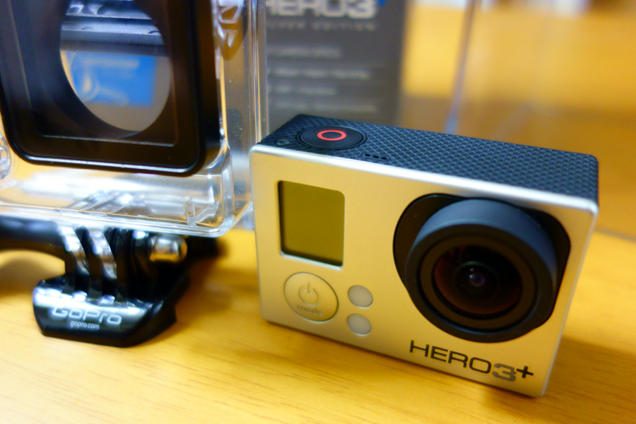 GoPro HERO3+ シルバーエディション