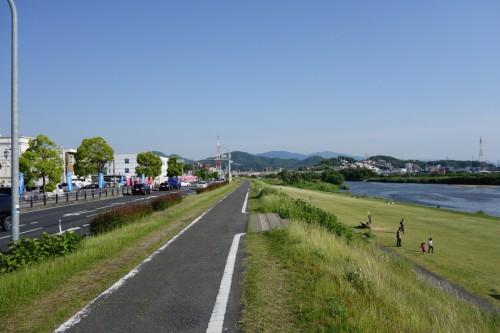 大和川 サイクリングロード