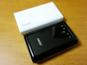 Anker モバイルバッテリー 2種