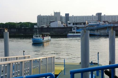 落合上渡船場