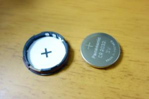 Garmin tempeの電池