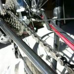 自転車のチェーンを洗浄した話