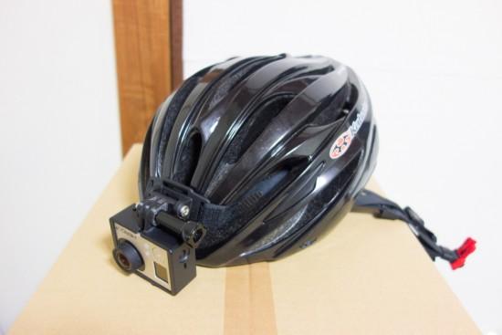GoProヘルメットマウント