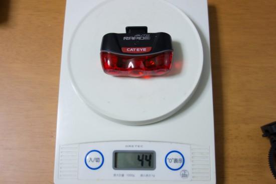 RAPID3 AUTOの重さ