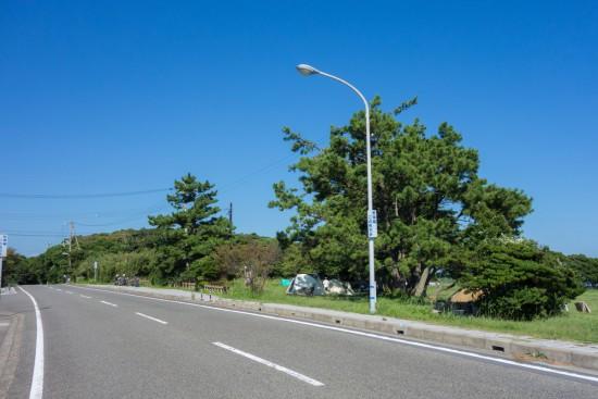 潮岬キャンプ場(無料エリア)
