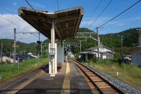 JR紀伊有田駅 ホーム
