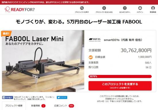 FABOOL Laser Mini - READYFOR
