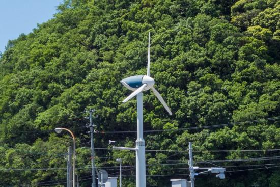 くじらっぽい風力発電