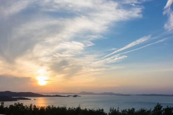 小豆島の夕陽