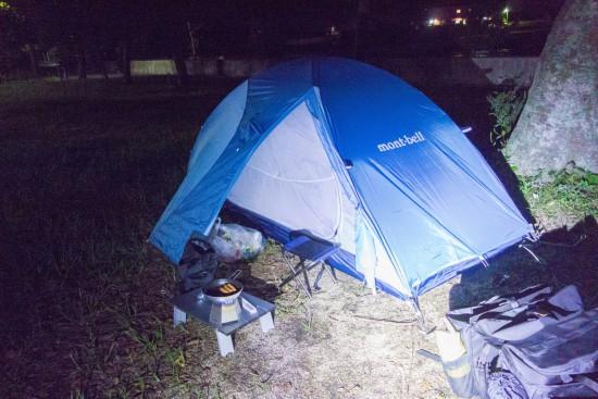 田井浜キャンプ場