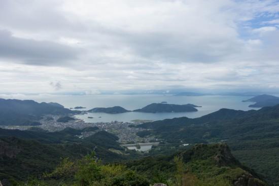 寒霞渓からの景色