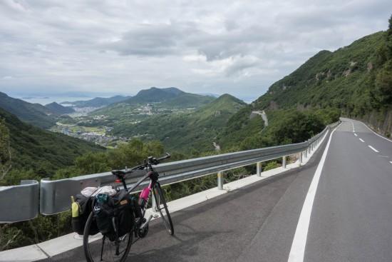 小豆島スカイラインからの景色
