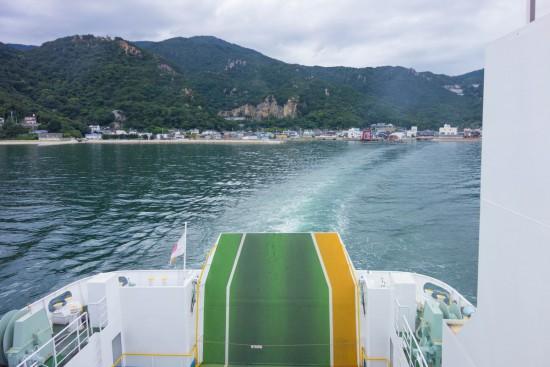 船からの福田港