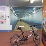 サイクリング 関門トンネル