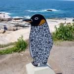 千畳敷のペンギン