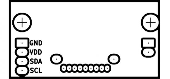 裏面のマスクパターン画像