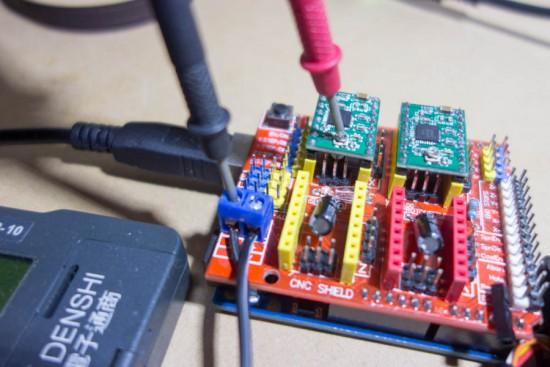 モータードライバー(A4988)の電流調整