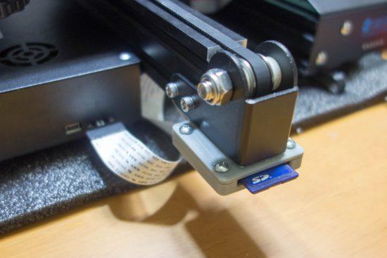 Ender-3 SD adapter holder