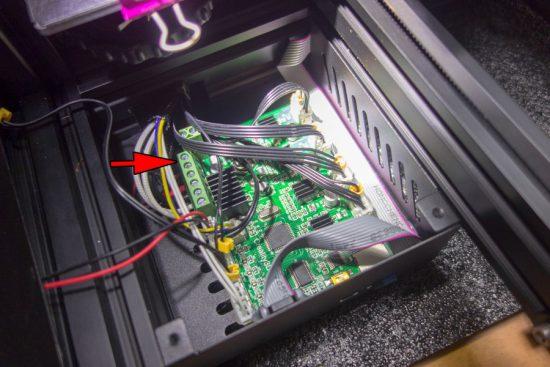 メインボード 24V端子